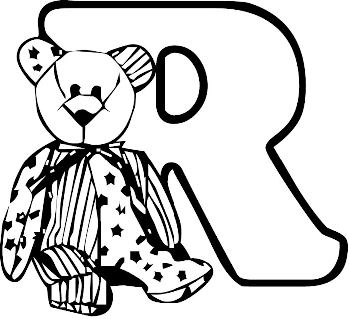 Alphabet Coloring Pages Letter Aa  dltkteachcom